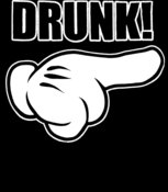 Cartoon Hand Drunk - T54